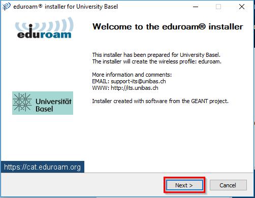 EduroamCAT_Installation 1